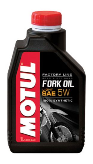 FORK OIL 'Factory Line' LIGHT 5W - 100% Synthetic Ester -