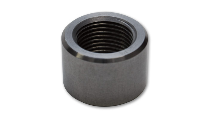 -6 AN Female Weld Bung (9/16' -18 Thread) - Mild Steel