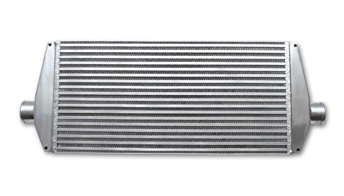 Air-to-Air Intercooler Assembly, complete with end