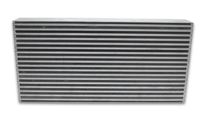 Air-to-Air Intercooler Core Only (core size: 25' W x 12'