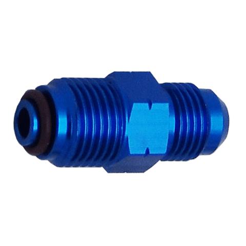 BUMP TUBE FITTING EFI ADAPTER DASH 6 TO 18MM X 1.5 O-RING
