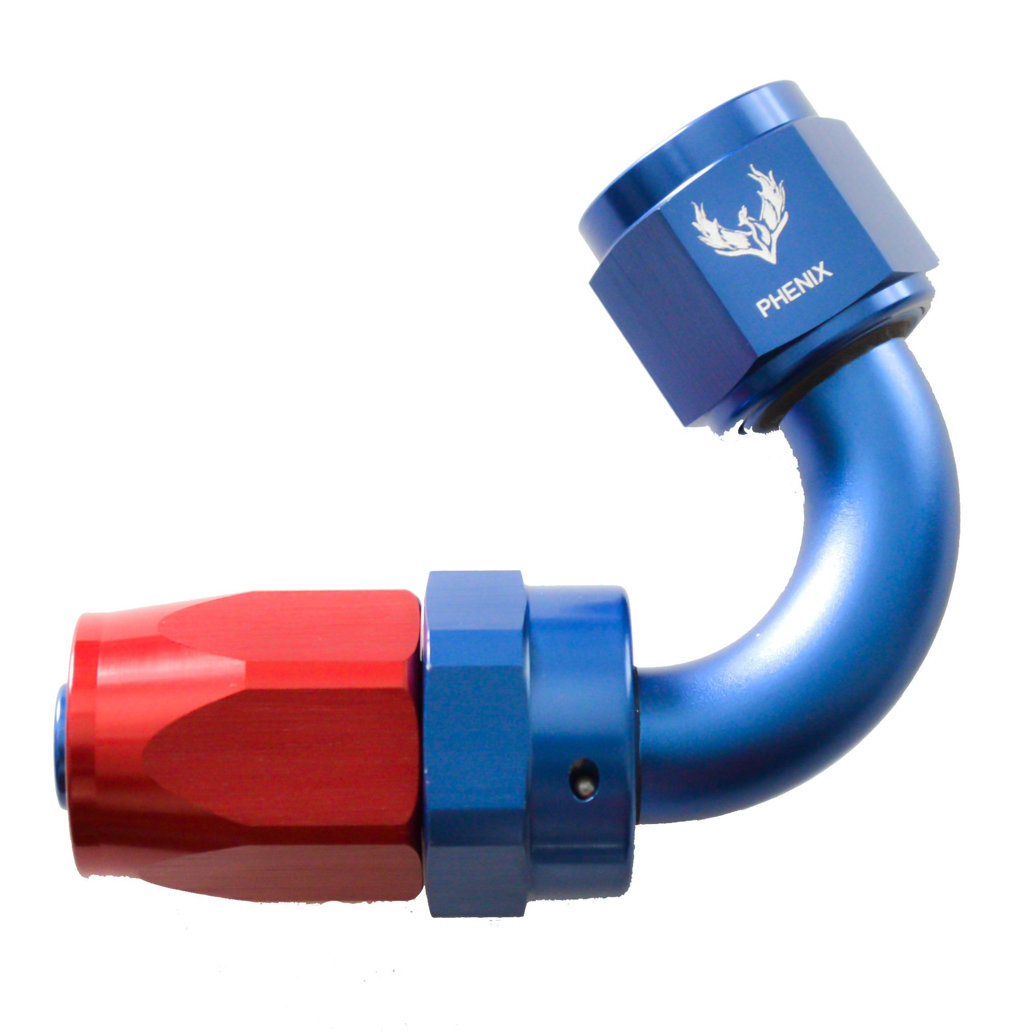 -4 120 DEGREE SWIVEL HOSE END R&B